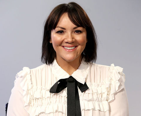 Martine McCutcheon -- now 41 years old -- was recently photographed looking loved, actually.