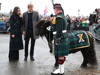 Prince Harry and Meghan Markle Visit Scotland