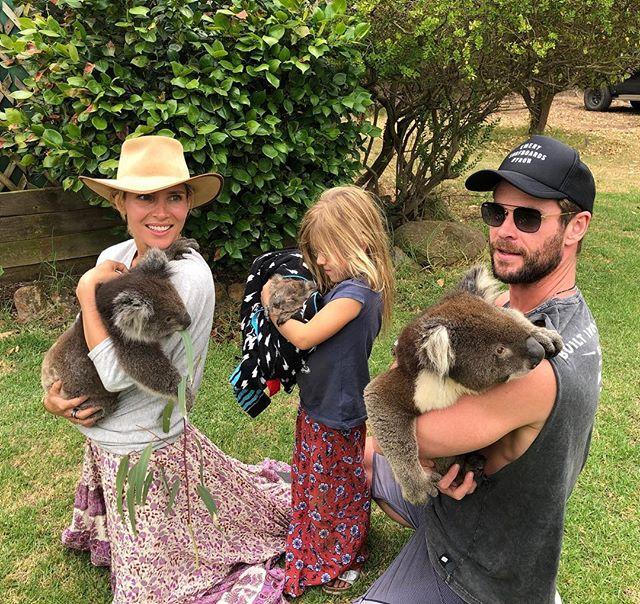 Chris Hemsworth Family Photos From Australia Photo 1