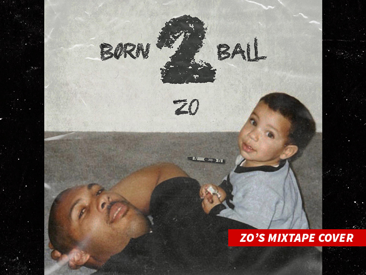 Lonzo Ball is gonna have to go platinum with no features like J. Cole.