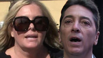 Scott Baio, Nicole Eggert At War in Dueling News Conferences