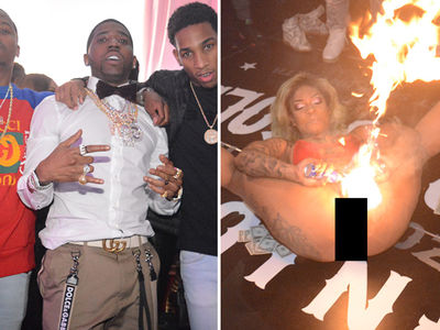 Rapper YFN Lucci's Birthday Party Featured Flaming Vaginas!