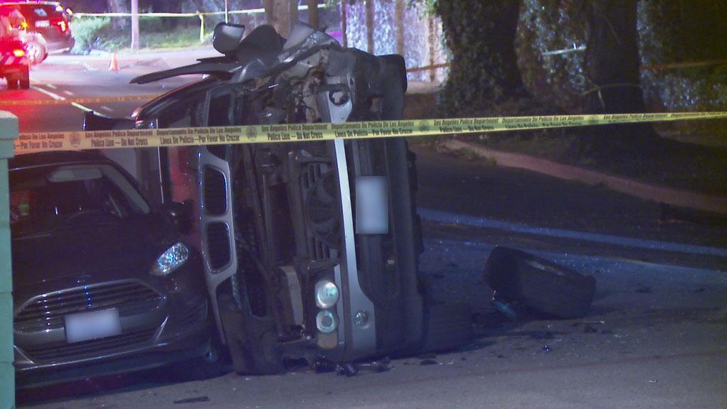 Bill Haas Car Accident Scene | Photo | TMZ.com
