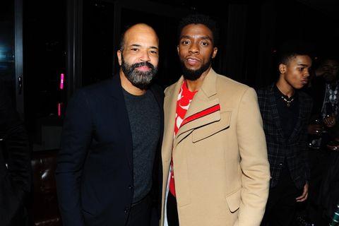 Jeffrey Wright and Chadwick Boseman