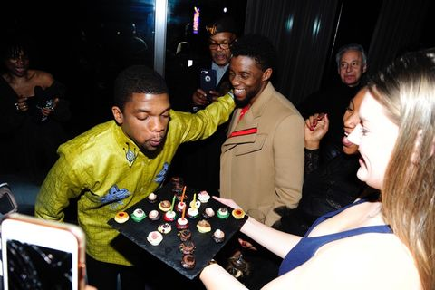 Kevin Boseman and Chadwick Boseman