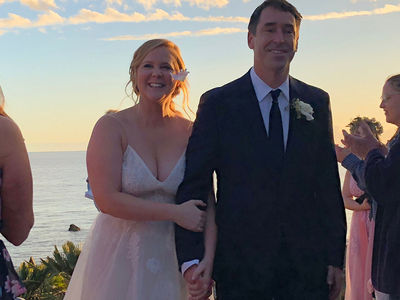 Amy Schumer Shares Photos of Top Secret Wedding