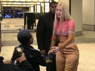 Iggy Azalea Meets Smoothest Kid Ever on Valentine's Day