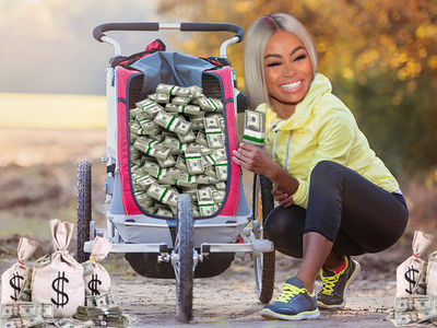 Blac Chyna's Getting in Baby Stroller Business with Momiie Brand