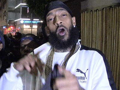 Nipsey Hussle's Armored Truck Towed, He Says Cops Have it Out for Him
