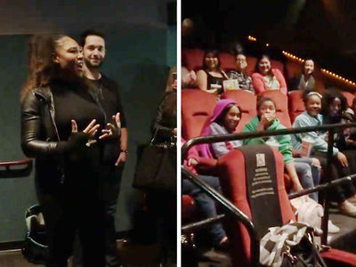 Serena Williams Takes Black Girls to 'Black Panther,' 'Huge Moment for Black People'