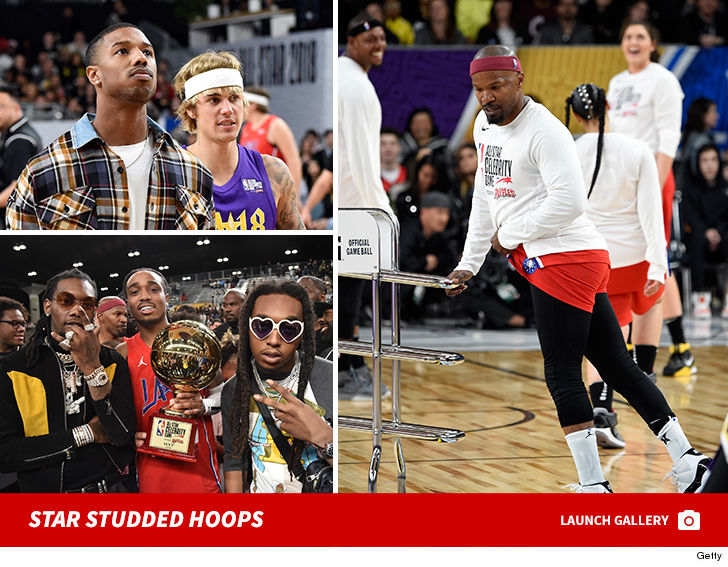 NBA All-Star Celebrity Game Features Justin Bieber 18f5d60e6