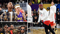 NBA All-Star Celebrity Game Features Justin Bieber, Jamie Foxx and Michael B. Jordan