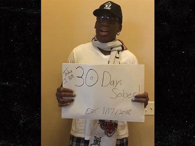 Dennis Rodman Hits Rehab Milestone, Sober for 30 Days