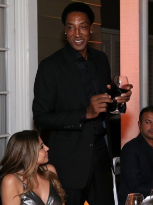 Scottie Pippen -- The All-Star Dinner