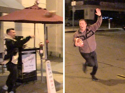 Johnny Manziel Completes First Comeback Pass, To TMZ Camera Guy