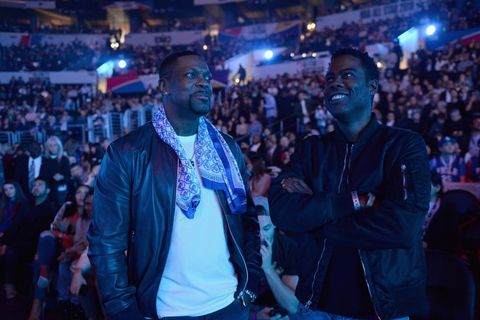 Chris Tucker and Chris Rock