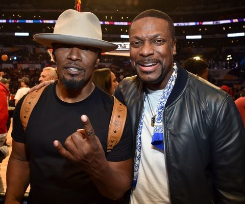 Jamie Foxx and Chris Tucker