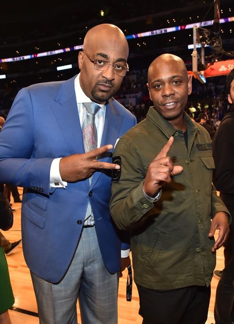 Dennis Scott and Dave Chappelle