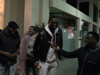 Dwyane Wade: 'Black History Month' Dinner w/ Dave Chappelle, Kevin Hart