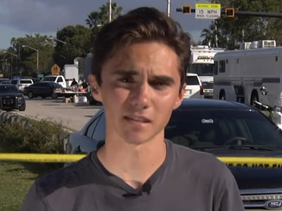 Florida Shooting Survivor David Hogg Conspiracy Theory Debunked by Yearbook