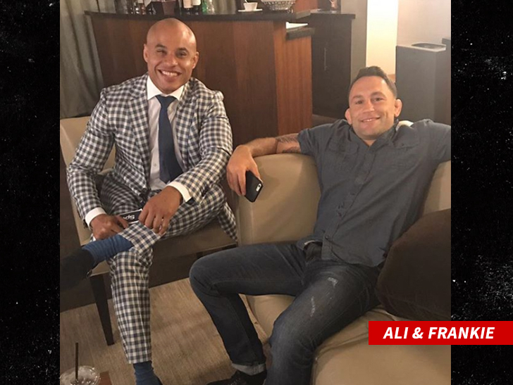 Conor has been ducking Frankie for years and never REALLY wanted to fight him at UFC 222, so says Frankie's manager