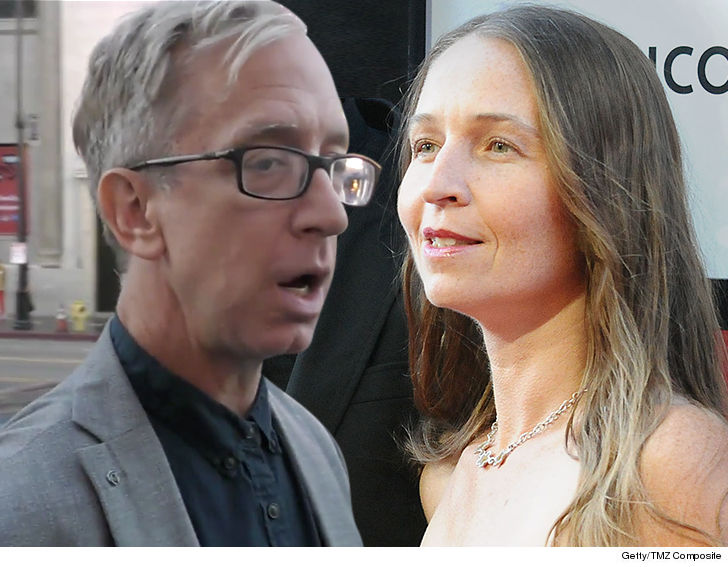 Andy Dick is drinking heavily again and lashing out at his family ...  according to his wife, who's now getting court-ordered protection from him.