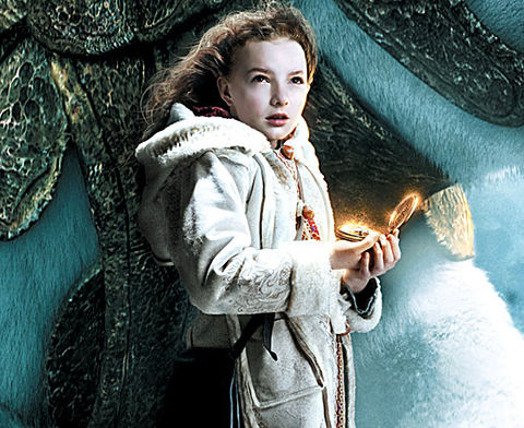 "Dakota Blue Richards is best known for playing the polar bear-riding Lyra  in the 2007 fantasy film ""The Golden Compass."""