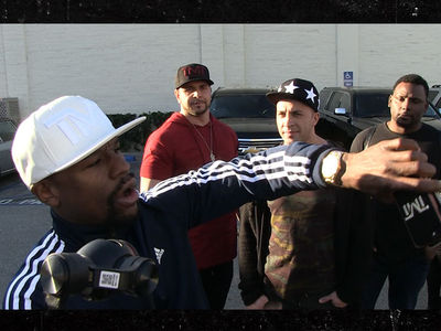 Floyd Mayweather Gives TMZ Photog Tour Of New $2 Million Fleet!