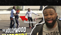 Tekashi69 Fights Like a Bitch, Says UFC Champ Tyron Woodley