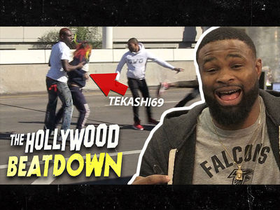 Tekashi69 Fights Like a Bitch, Says UFC Champ Tyron Woodley