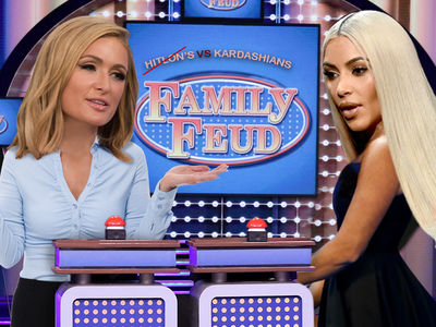 'Family Feud' Supposed to be Hiltons vs. Kardashians but Hiltons Bailed