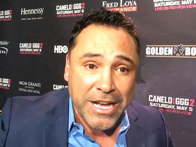 Oscar De La Hoya 'Dares' Trump to Come to Canelo Fight, Prove You Love Mexicans!