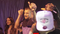 Rob Gronkowski Crashes Rick Ross Concert, Dances His Ass Off