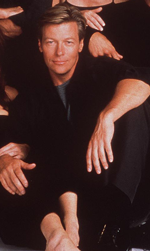 Jack Wagner was best known for his role Peter Burns in 'Melrose Place'