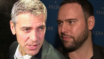 George Clooney and Scooter Braun Secretly Major Forces Behind March for Our Lives