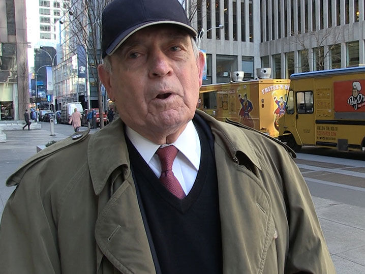 Dan Rather Slams President Trump for Claiming He'd Run into Florida School  | TMZ.com