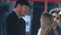 Chris Pratt on Coffee Date with Mystery Blonde
