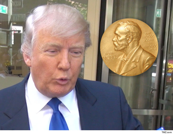 Donald Trump Nobel Peace Prize
