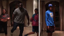 Shaq Celebrates Shareef's UCLA Decision With Family Dance Video!