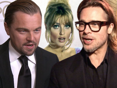 Leonardo DiCaprio & Brad Pitt Taking Heat for Manson Murder Movie from Sharon Tate Family