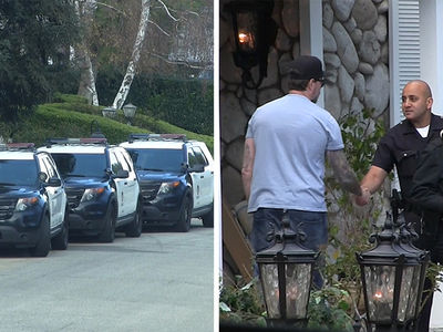 Dean McDermott Seen Talking to Cops After Tori Spelling's Apparent Mental Breakdown (UPDATE)