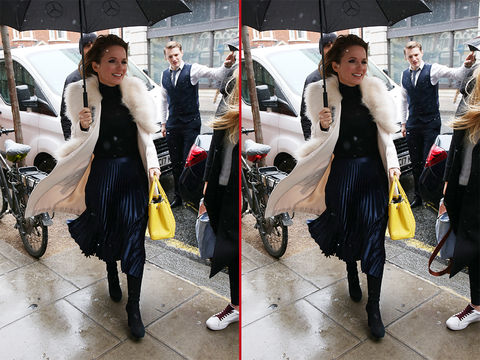 Can you spot the THREE differences in these Geri Halliwell photos?