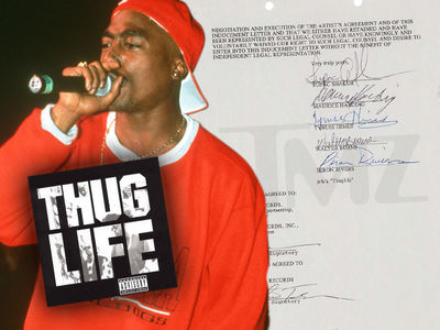 Tupac Shakur's Signed Thug Life Contract Up for Auction