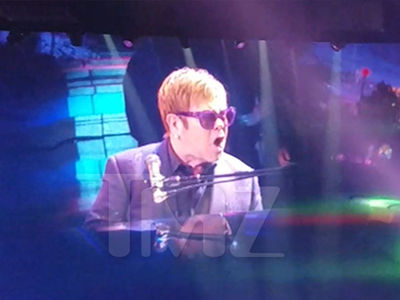 Elton John Loses It When Handsy Fans Get Onstage, Walks Off Vegas Concert