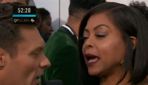 Taraji P. Henson Talks to Ryan Seacrest about the Universe on Oscar Red Carpet (UPDATE)