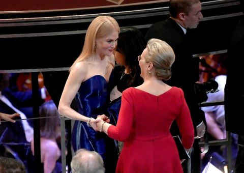 Nicole Kidman and Meryl Streep