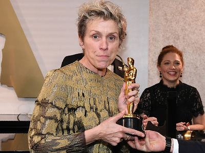 Frances McDormand's Oscar Thief Arrested for Felony Grand Theft (UPDATE)