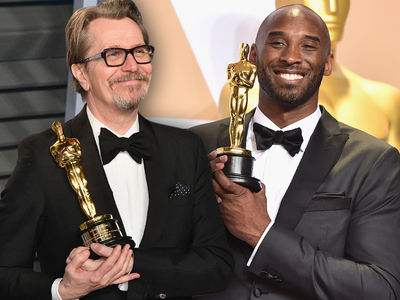 Gary Oldman's Ex-Wife Slams Academy for His and Kobe's Oscar Wins