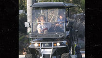 Chris Martin and Dakota Johnson's Golf Cart Date in Malibu
