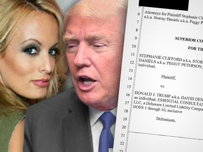 Stormy Daniels Sues Trump Over Confidentiality Agreement